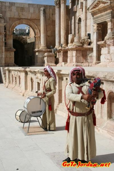 Выступление в римском театре