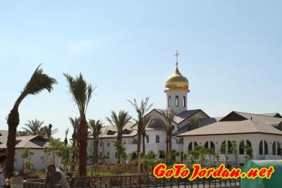 Строительство Паломнического центра Русской Православной Церкви на р.Иордан