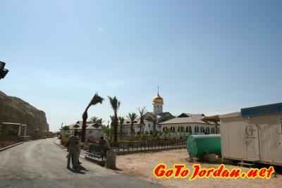 Строительство Паломнического Центра Русской Православной Церкви на р. Иордан в Иордании