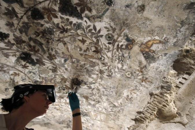 Реставрация фресок. Использованы материалы сайта ma_zaika.ru