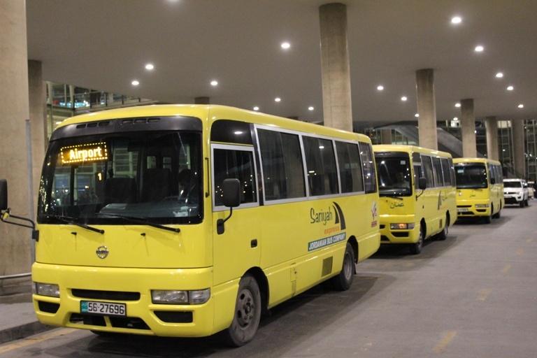 Рейсовые автобусы в аэропорту Аммана