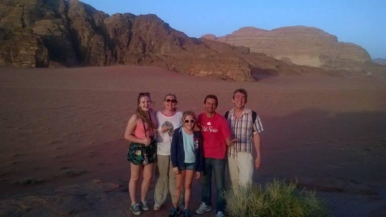 Иордания, пустыня Вади Рам