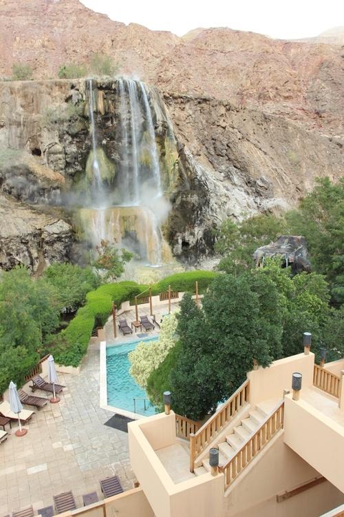Горячие источники и отель Эвасон Маин в Иордании, фото