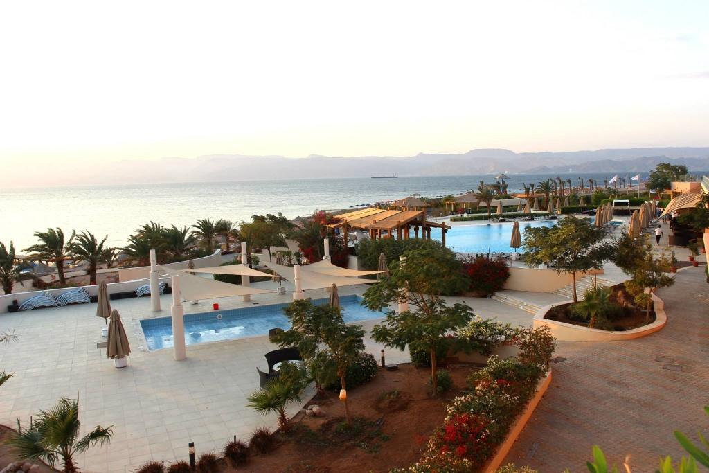 Пляжный клуб Berenice возле Акабы, Иордания